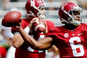 Alabama's Blake Sims