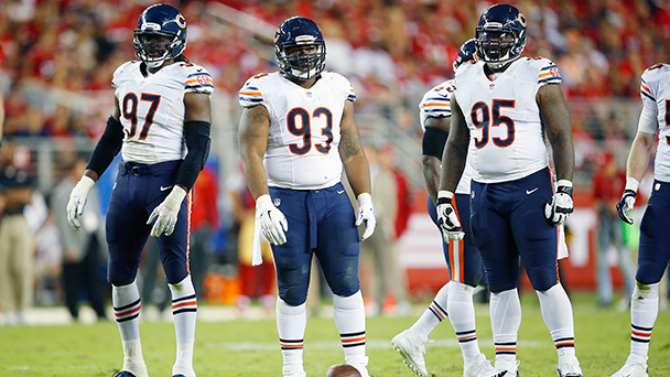 Chicago Bears defensive line
