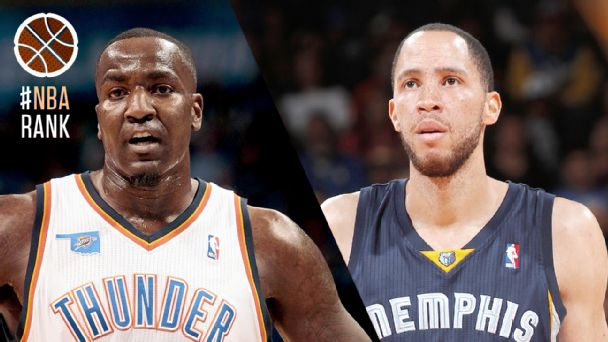 Kendrick Perkins and Tayshaun Prince