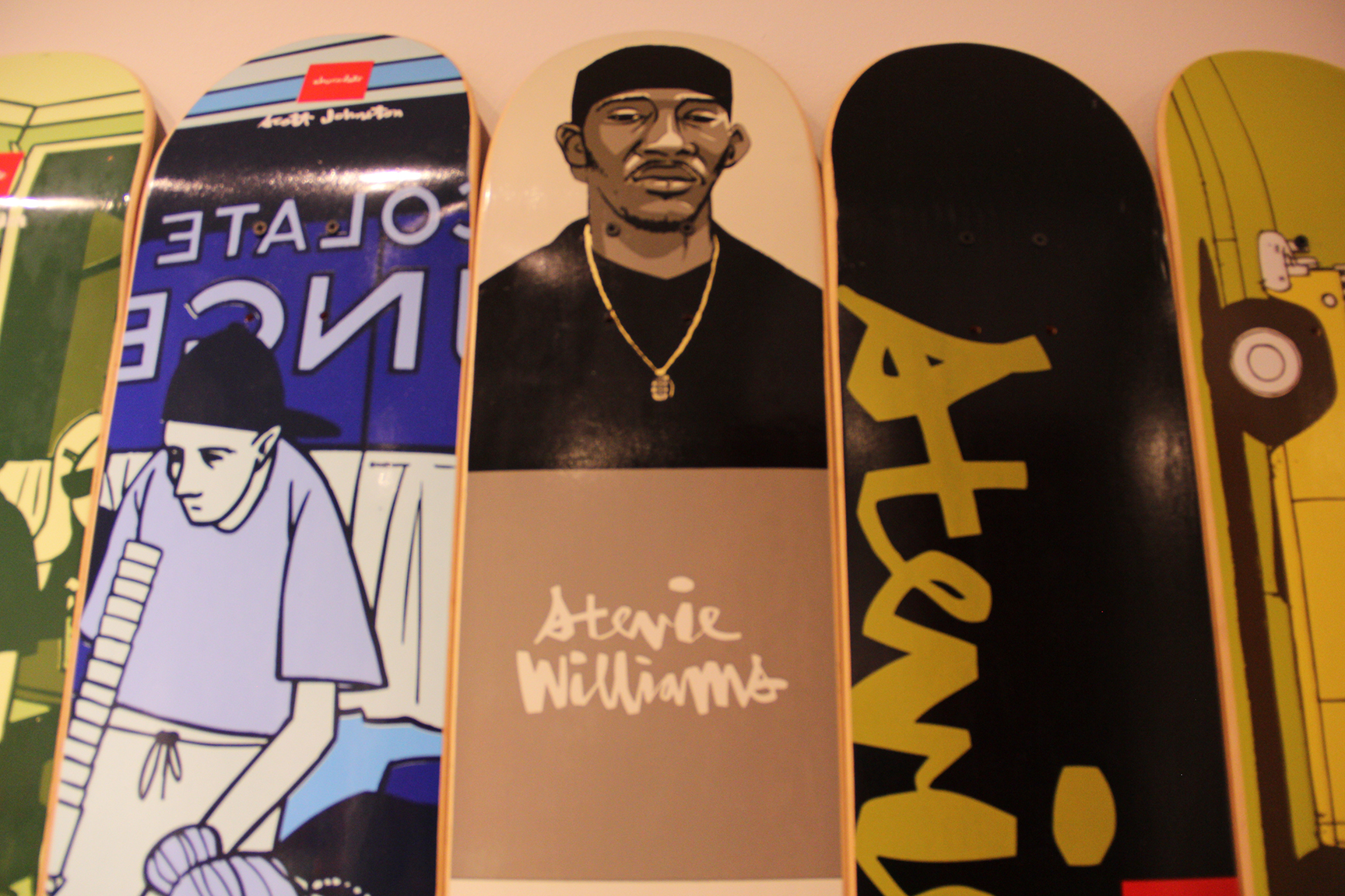 Stevie Williams deck