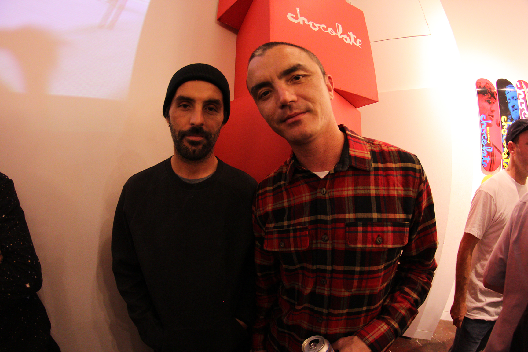 NYC OGs, Gino Iannucci (left) and Jefferson Pang (right).
