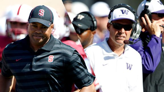 David Shaw and Chris Petersen