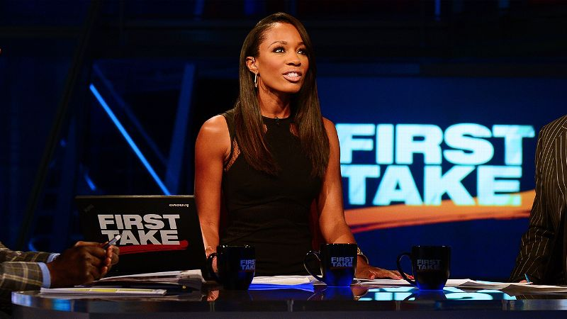 Sports media outlets have responded to recent events by showcasing the reporting and opinions of women who work for them, like ESPN's own Cari Champion, above.