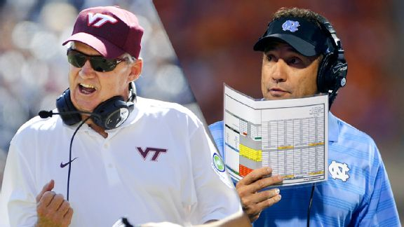 Frank Beamer and Larry Fedora
