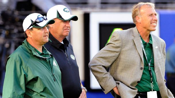 Marty Mornhinweg, Rex Ryan, John Idzik