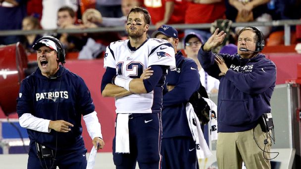 Josh McDaniels and Tom Brady