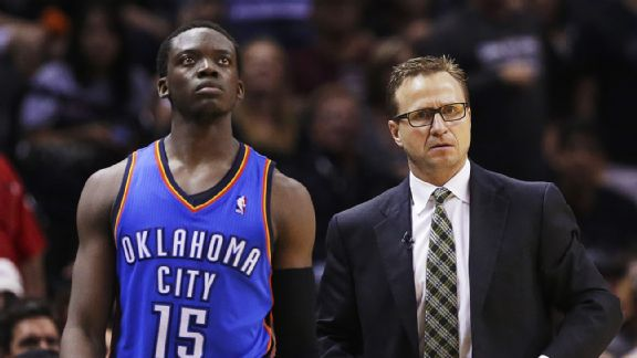 Reggie Jackson, Scott Brooks