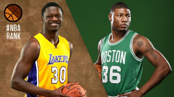 Julius Randle and Marcus Smart