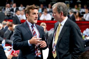 George McPhee and Ray Shero