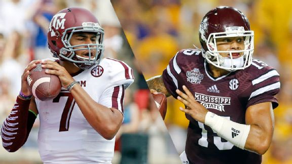 Kenny Hill and Dak Prescott