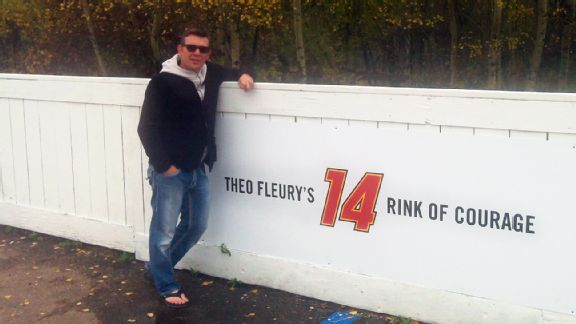 NHL -- Theo Fleury Helping Others Who Have Been Abused