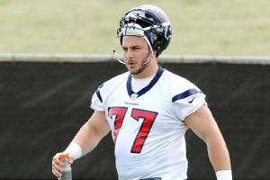 David Quessenberry, who was diagnosed with non-Hodgkins T lymphoblastic lymphoma in June and has since gone through six rounds of chemotherapy, will serve as the Texans' honorary captain on Thursday.