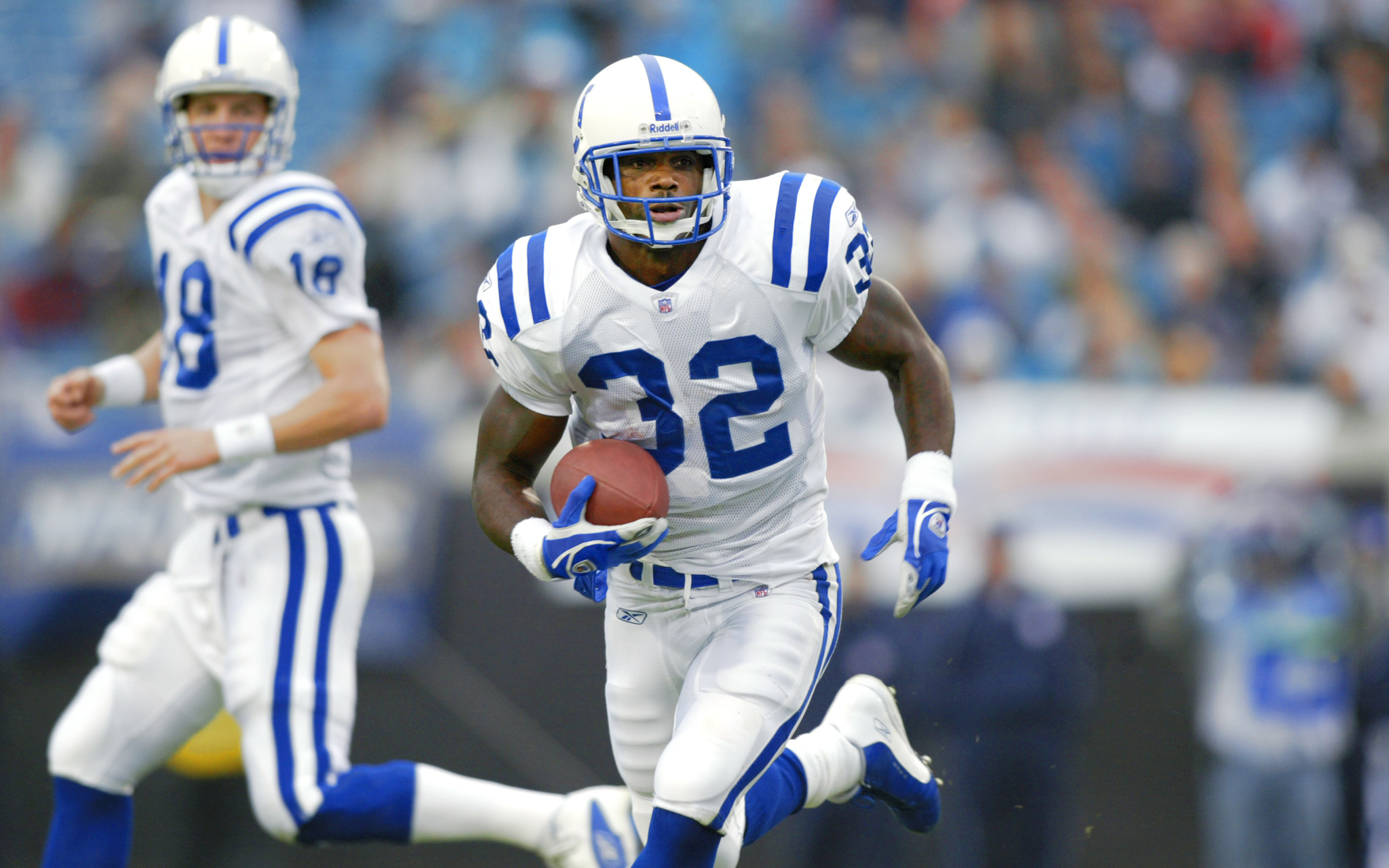 Edgerrin James Peyton Manning39s Top Targets Edgerrin James Peyton