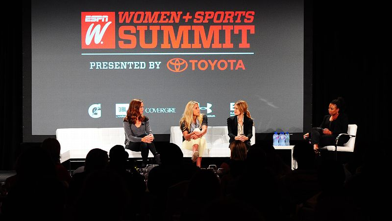 2014 espnW Women  Sports Summit: Achieving Excellence Panel