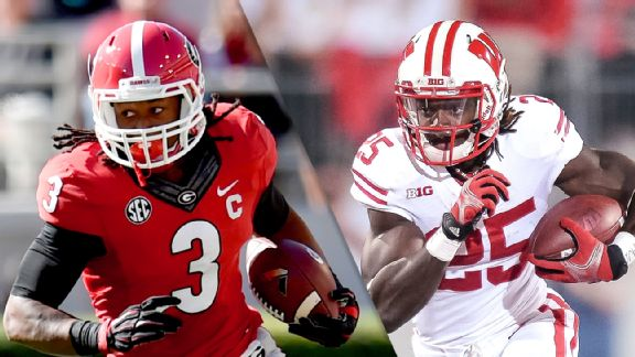 Todd Gurley and Melvin Gordon