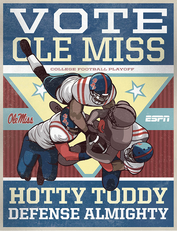 Ole Miss Poster