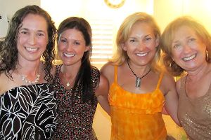 Ann Cicero, Kathleen Swinney, Lisa Lamb, Bette Bassett