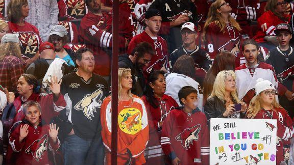 Coyotes Fans