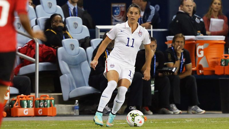 Ali Krieger and U.S. women's soccer play Guatamala at 9 ET Friday in Bridgeview, Illinois, in CONCACAF qualifying.
