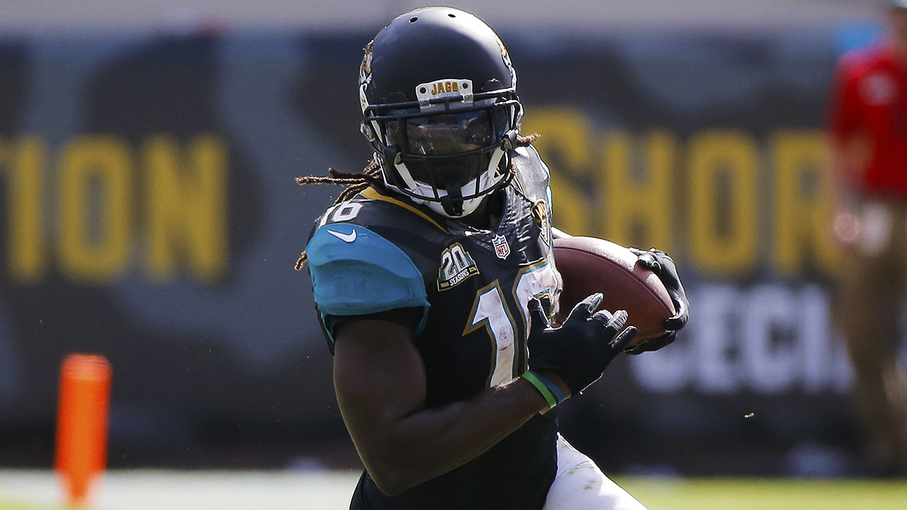 Denard Robinson of Jacksonville Jaguars out for rest of ...