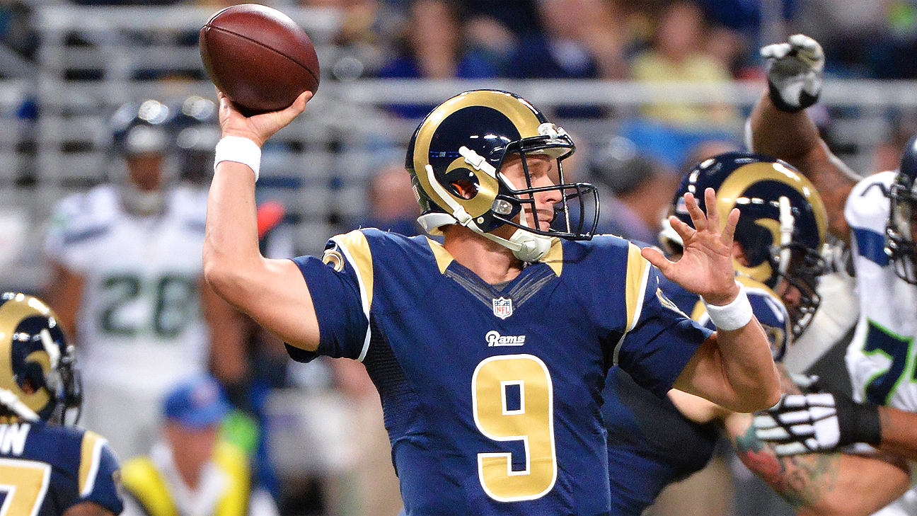 St Louis Rams Qb Austin Davis Gets It Done When Needed
