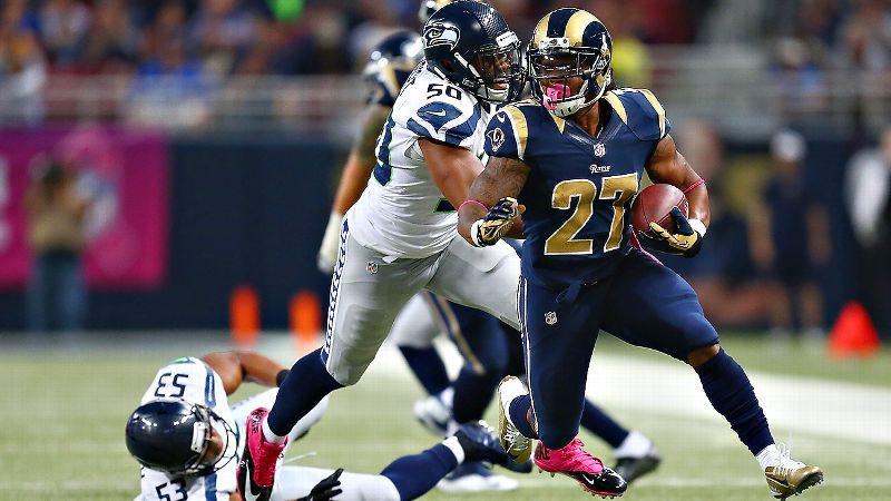 Tre Mason is coming off a big fantasy game last week. Is he for real?