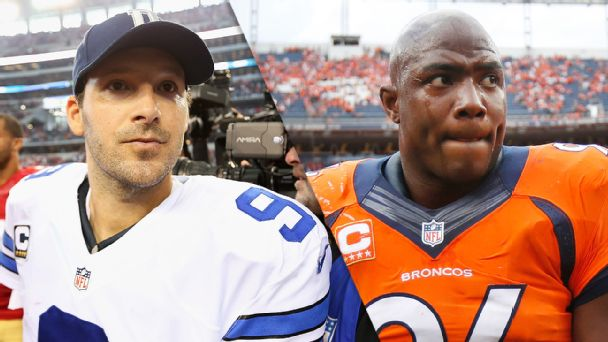 Tony Romo and DeMarcus Ware