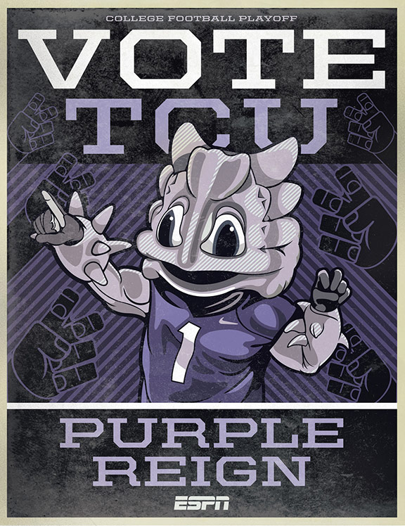 Espn Campaign Trail Tcu Horned Frogs Killerfrogs Com Lowering