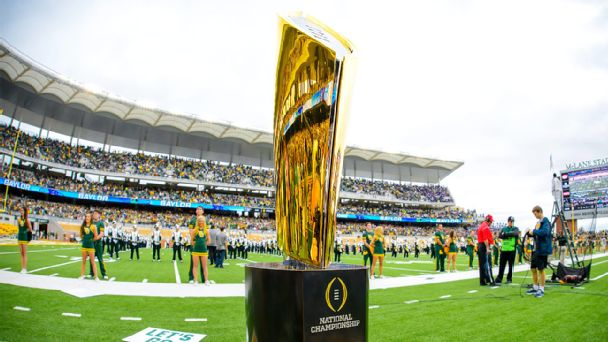 College Football Playoff National Championship Trophy