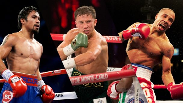 Manny Pacquiao, Gennady Golovkin, Andre Ward