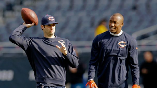 Jay Cutler and Brandon Marshall