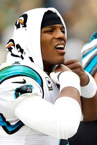 Cam Newton's goal is not to be taken out of another blowout los…