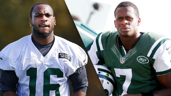 Percy Harvin and Geno Smith