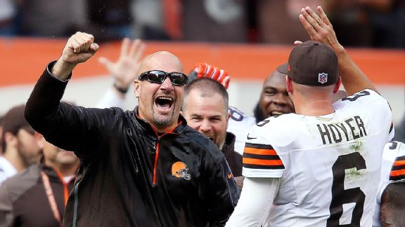 Mike Pettine, Brian Hoyer