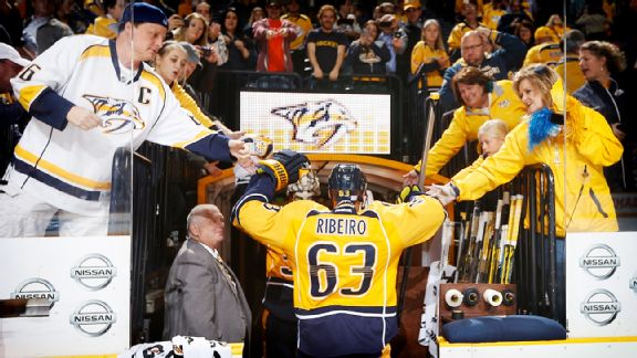 NHL -- After Years Of Making Wrong Decisions, Mike Ribeiro Trying To Do Right With Nashville Predators