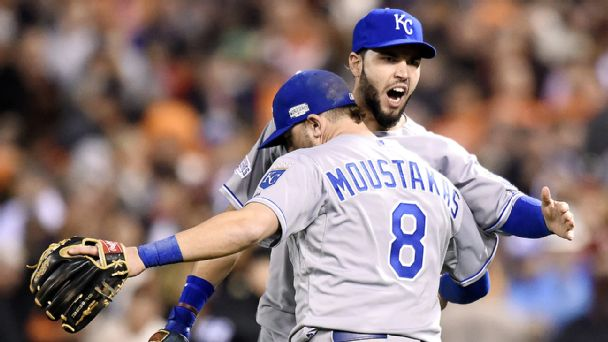 Eric Hosmer, Mike Moustakas