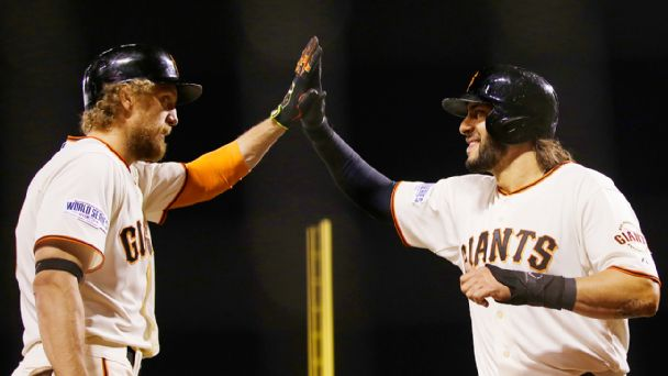Gregor Blanco and Hunter Pence
