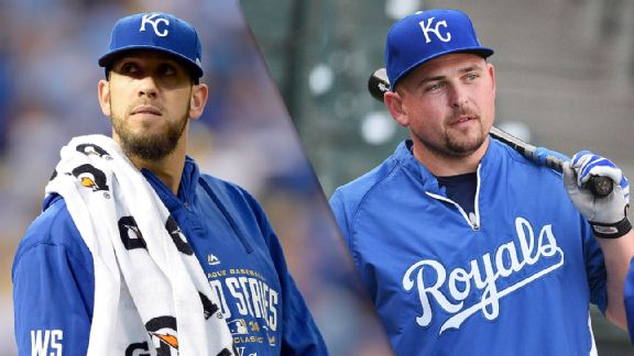 James Shields and Billy Butler