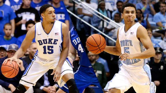 Jahlil Okafor and Marcus Paige