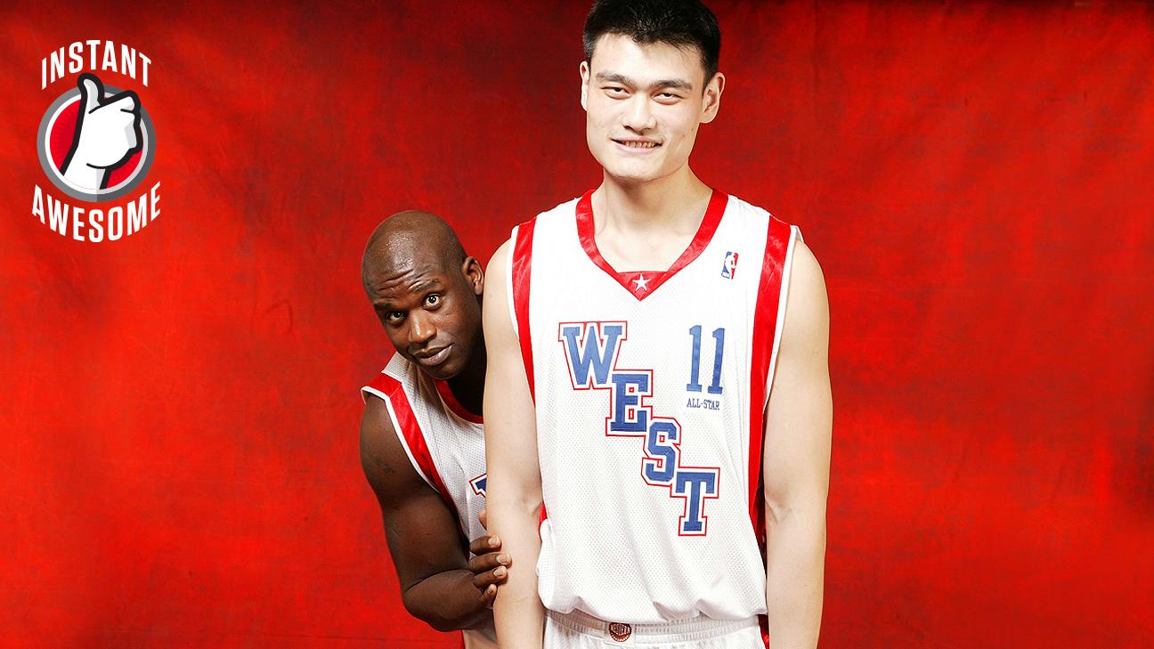 yao mind how tall