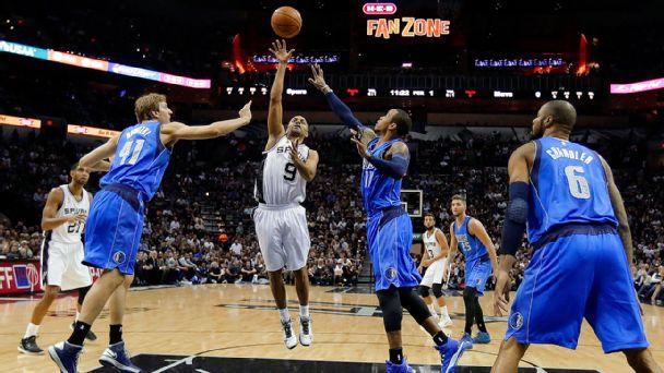 San Antonio Spurs and Dallas Mavericks