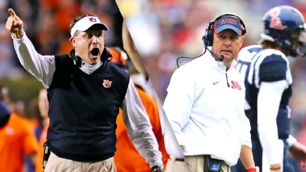 Gus Malzahn, Hugh Freeze