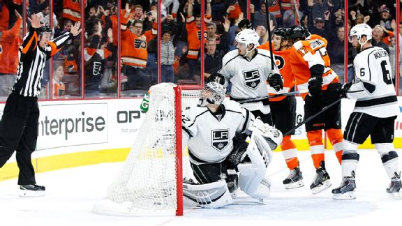Philadelphia Flyers-Los Angeles Kings
