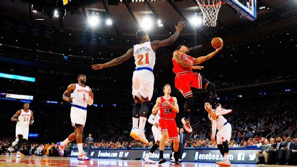 Bulls-Knicks