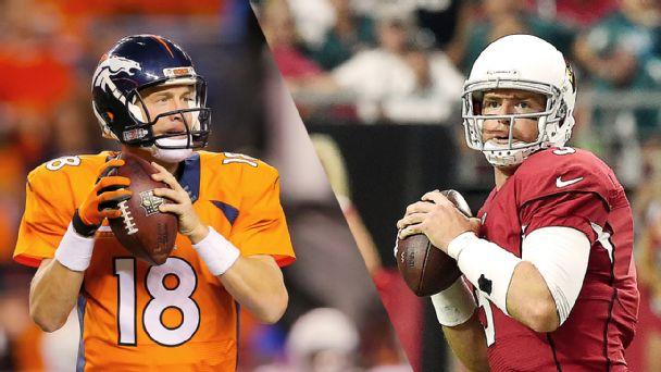 Peyton Manning, Carson Palmer