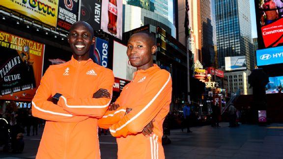 Wilson Kipsang and Geoffrey Mutai