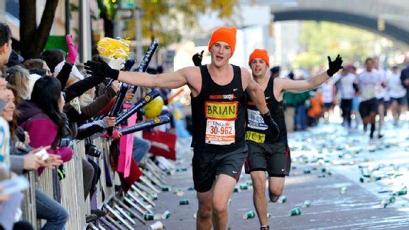 New York City Marathon, First Avenue