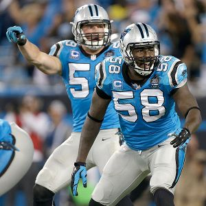 Thomas Davis and Luke Kuechly