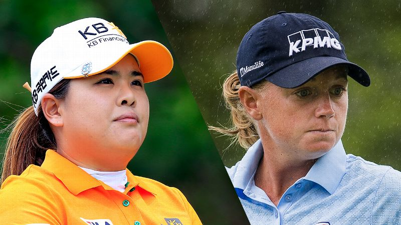 Inbee Park and Stacy Lewis