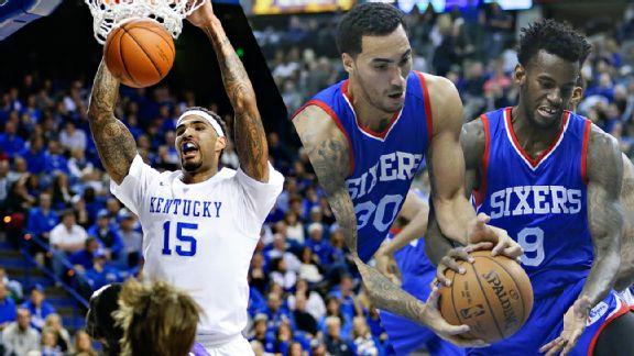 Kentucky & 76ers